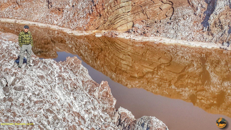 گنبد نمکی قم - زمستان 1398 2020