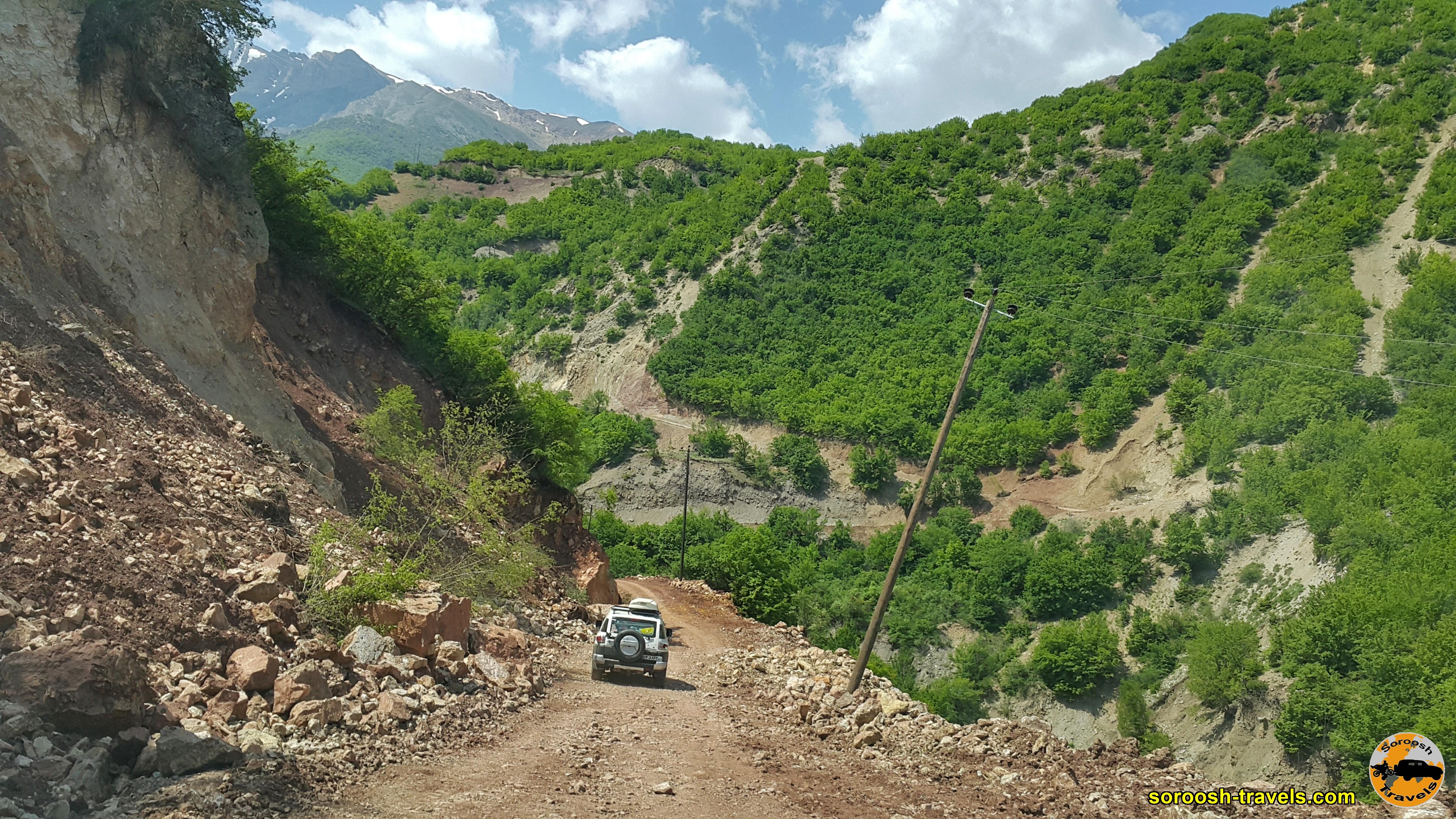 بطرف روستای سیاه مرزکوه - بهار 1399 2020