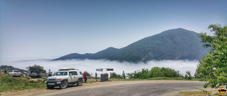 جاده شاهرود به توسکاستان - بهار 1399 2020