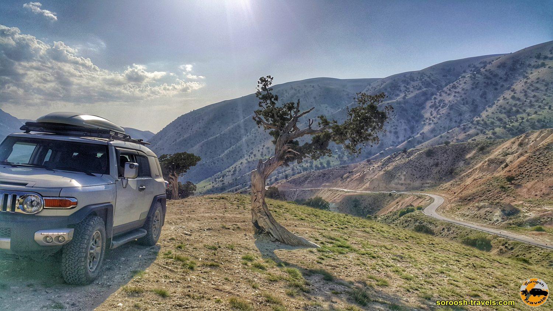 اطراف جاده شاهرود به توسکاستان - بهار 1399 2020
