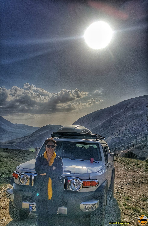 مناظر جاده شاهرود به توسکاستان - بهار 1399 2020