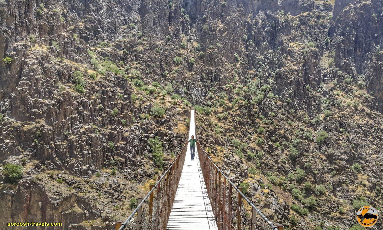 پل معلق پیرتقی - تابستان ۱۳۹۹