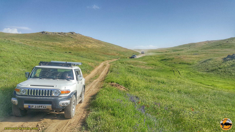 بطرف منطقه آرپاچای در ارتفاعات بین خلخال و تالش - تابستان ۱۳۹۹