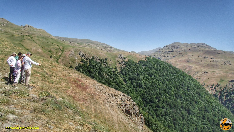 منطقه آرپاچای در ارتفاعات بین خلخال و تالش - تابستان ۱۳۹۹