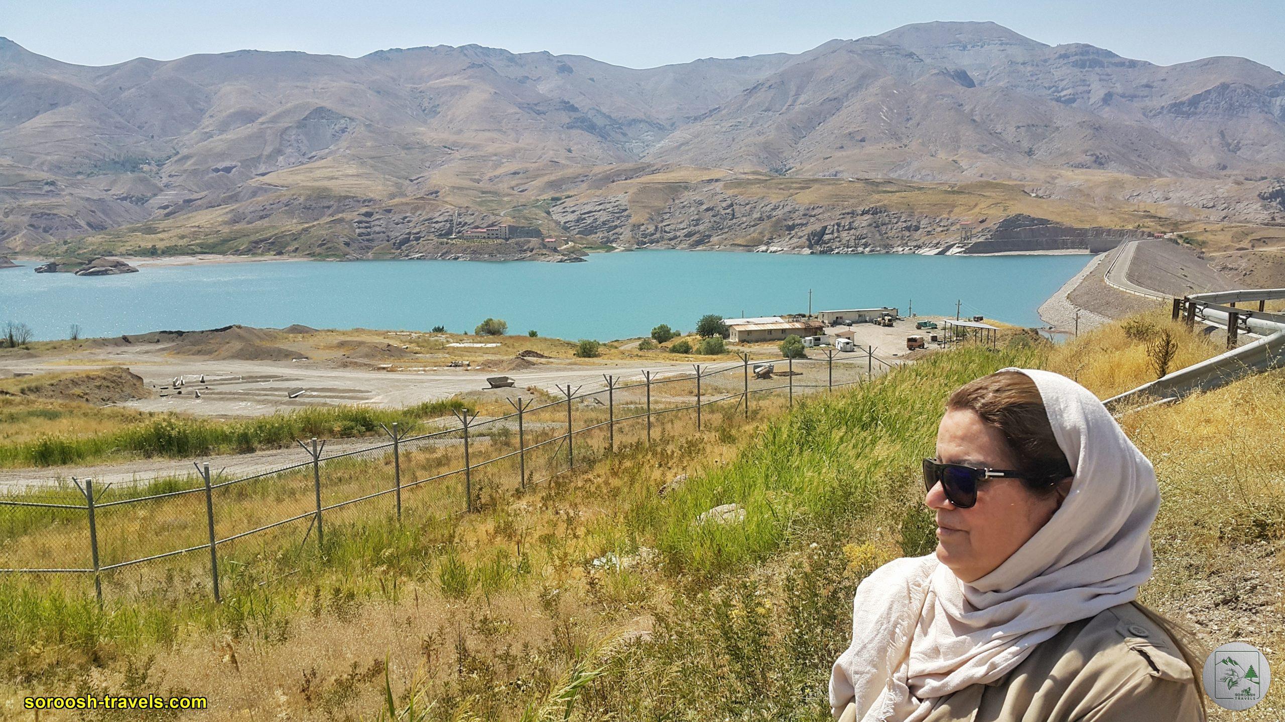 دریاچه سد طالقان - تابستان 1399 2020