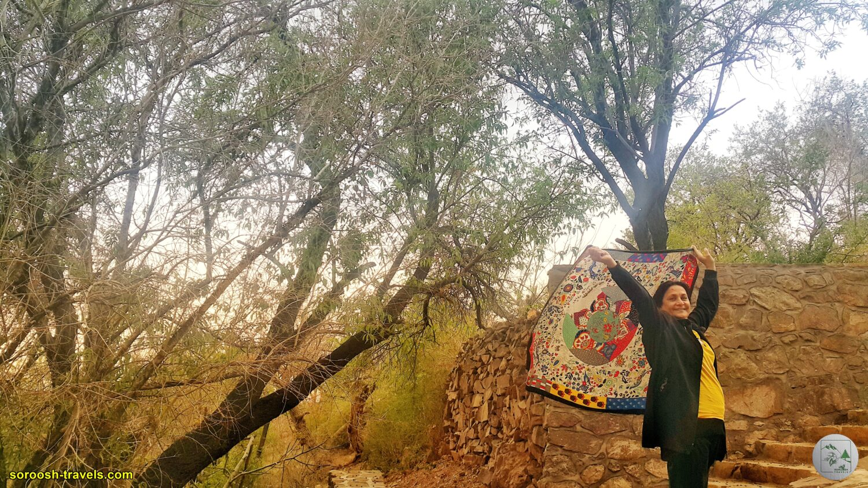 روستای دربید در شمال یزد - نوروز 1400