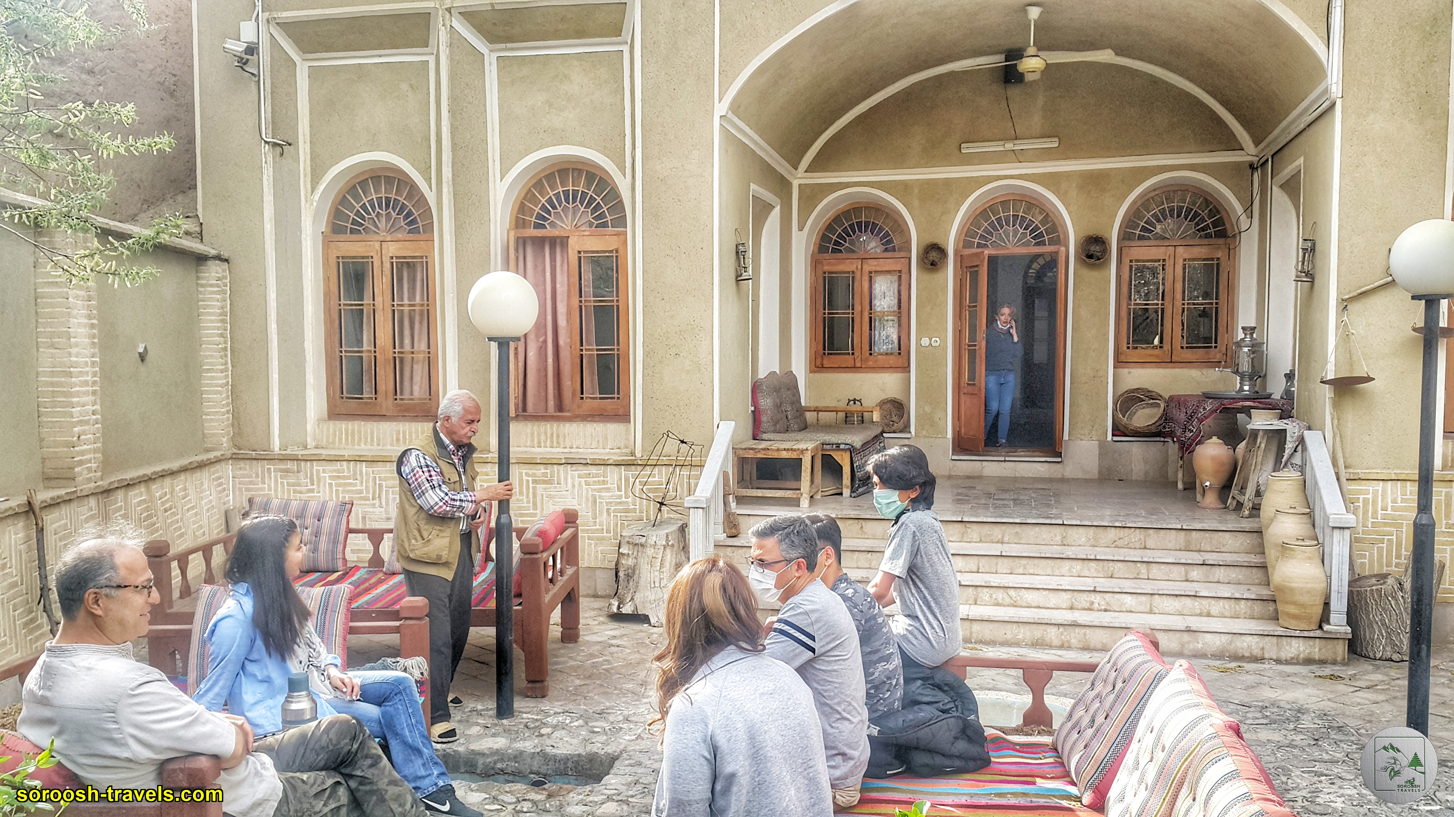 اقامتگاه بومگردی حاجی خان - تفت - یزد - نوروز 1400