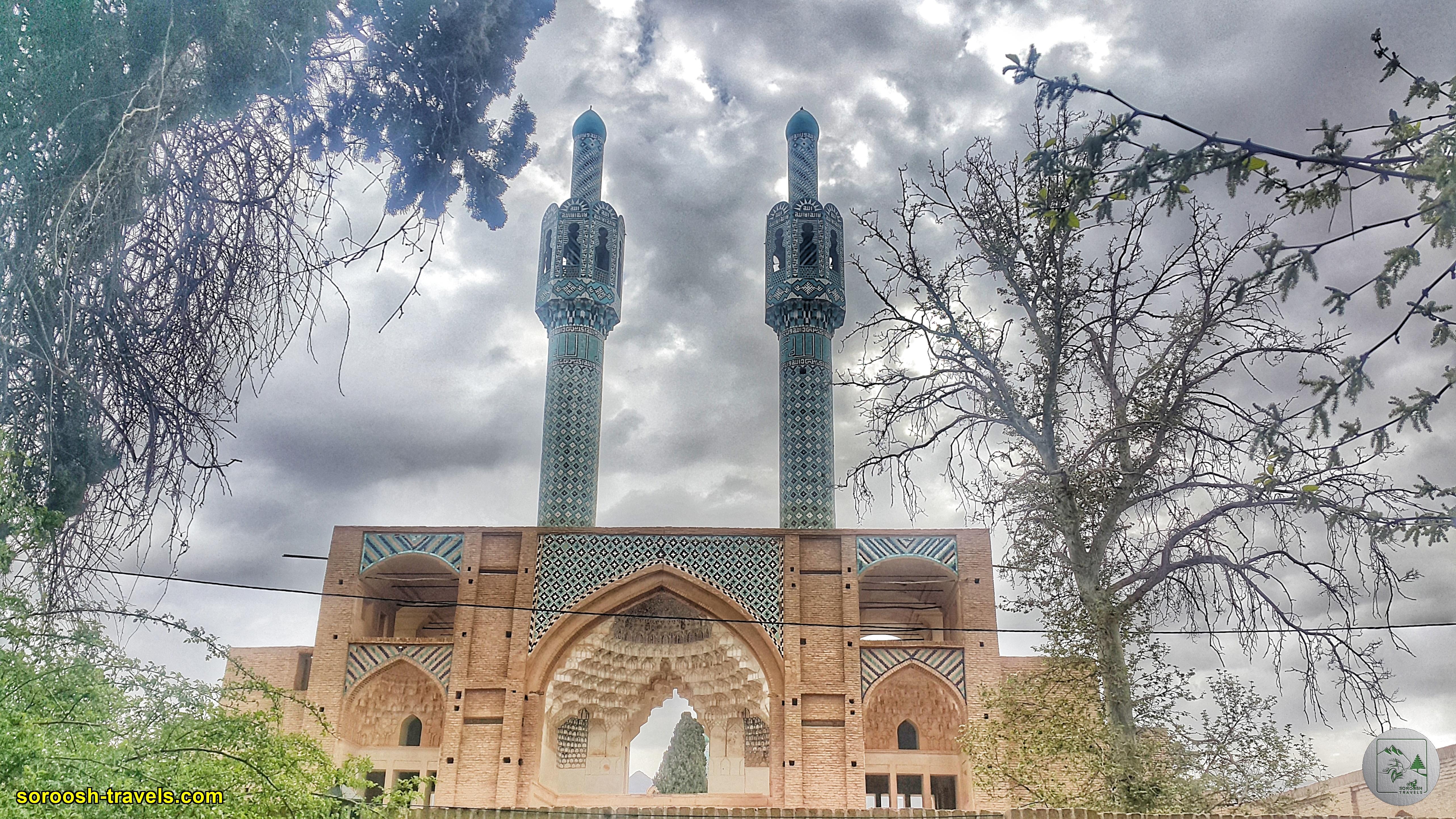 اقامتگاه متولی باشی در ماهان - نوروز 1400