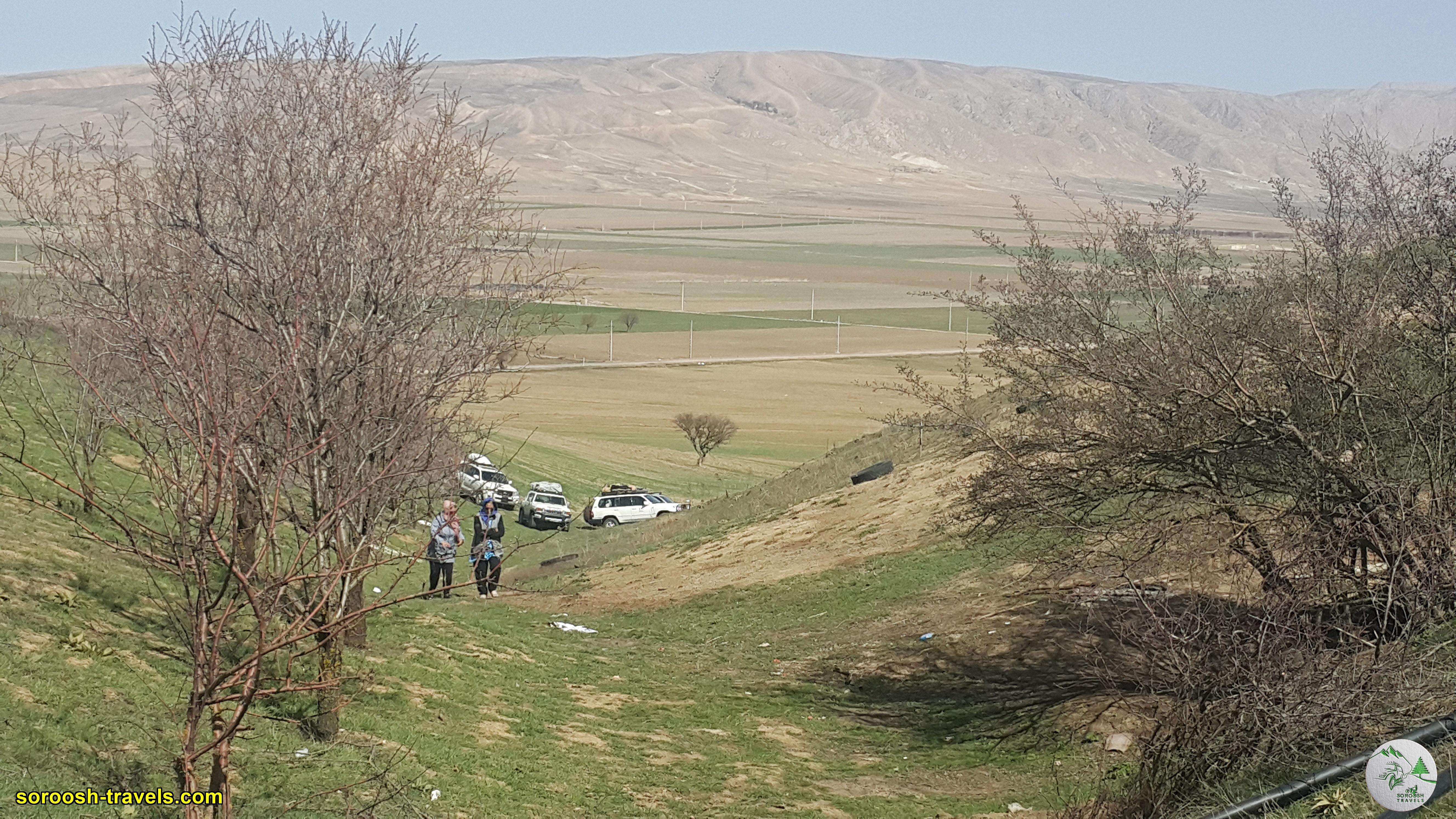 در مسیر ترکمن صحرا - نوروز 1400