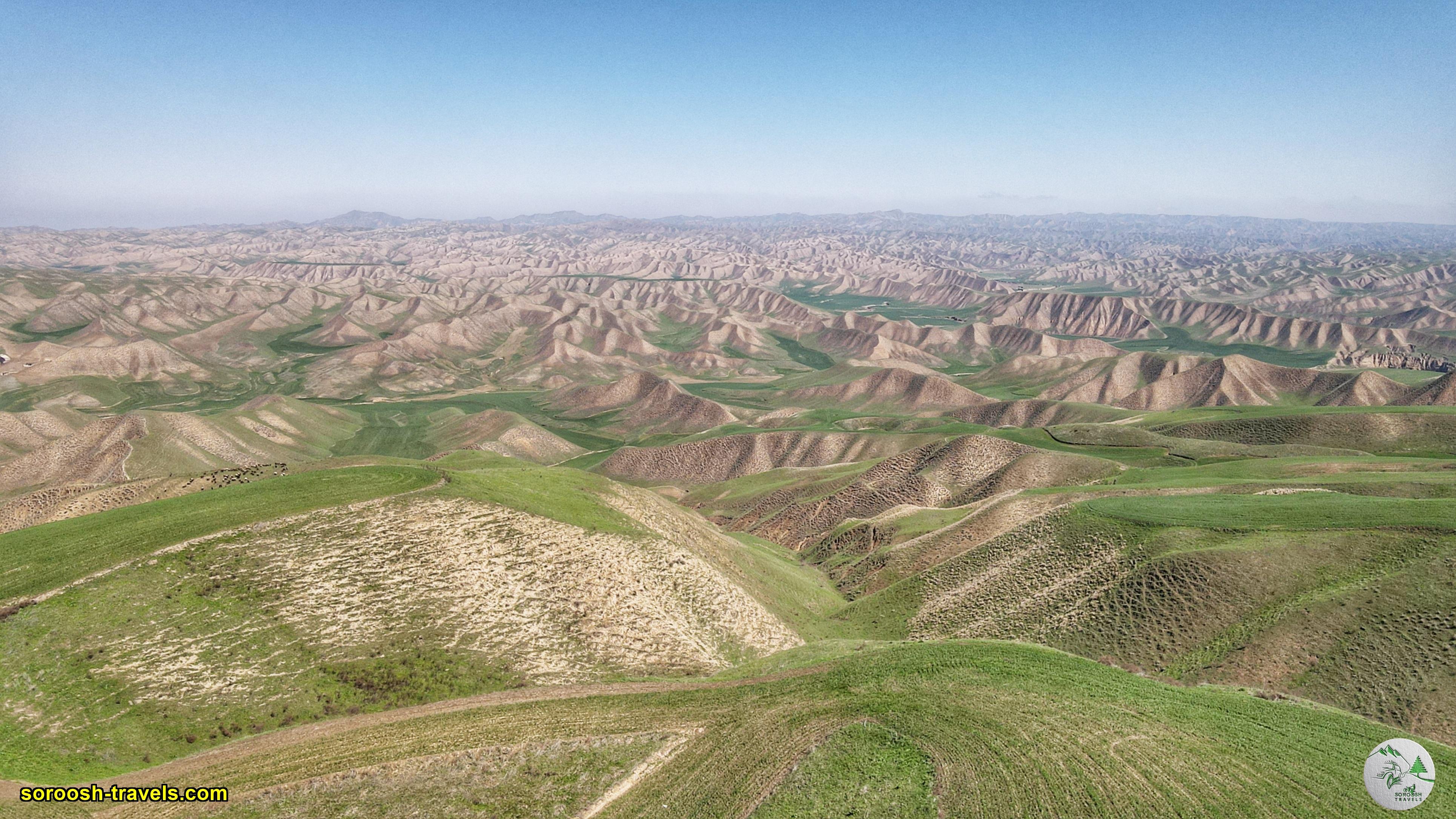 مناطق زیبای تورکمن صحرا - نوروز 1400