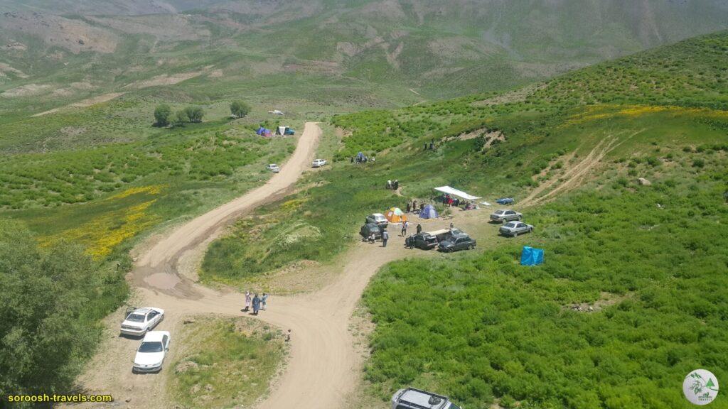 مسیر گچسر به طالقان - بهار 1400 - 2021