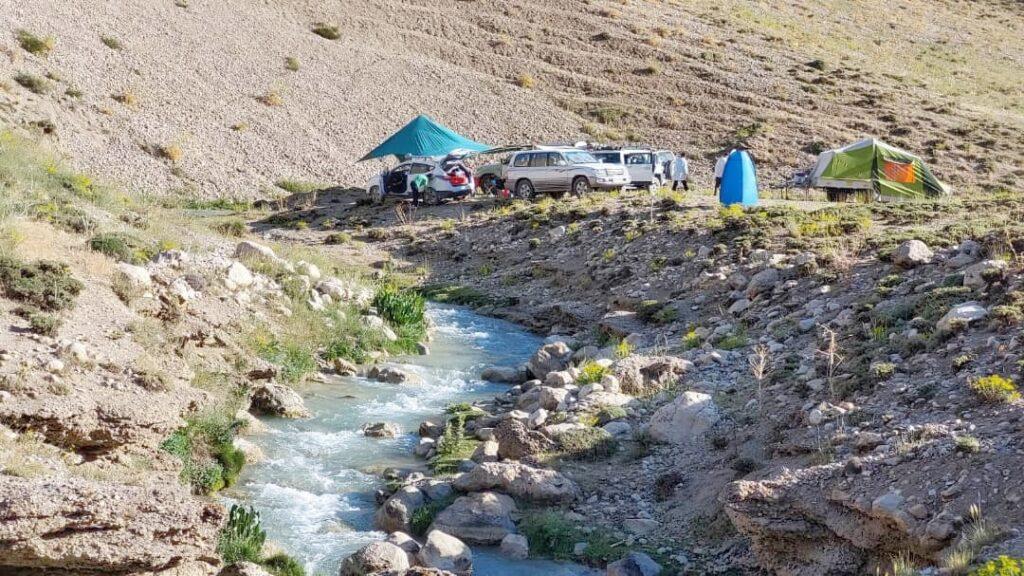 کمپ در دشت لار - تابستان 1400 - 2021