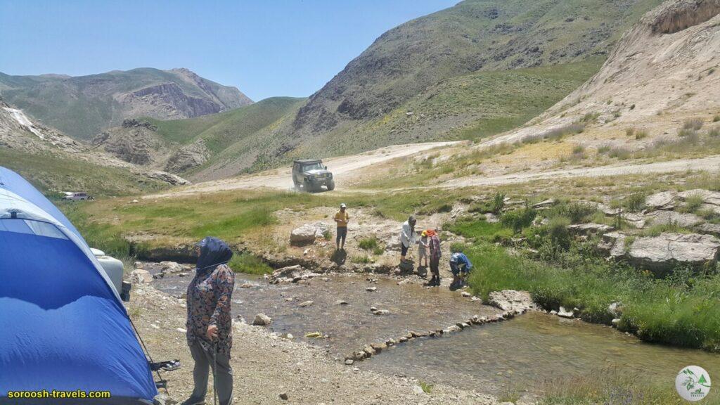 بطرف دیوآسیاب - دشت لار - تابستان 1400 - 2021