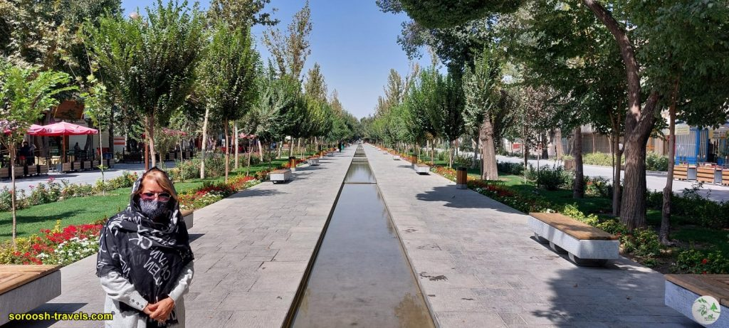 خیابان چهارباغ اصفهان - تابستان 1400 - 2021