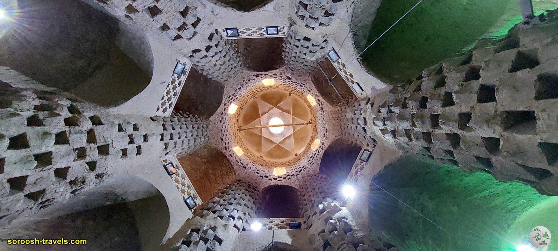 برج یا قلعه کبوتر در ورزنه - تابستان 1400 - 2021